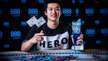 Ka Him Li - The Main Event Winner. Image by Fabfotos